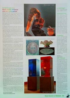 Petr STACHO-exhibition reloaded glass in Weiden(Germany)-article