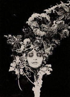 Art And Illustration, Art Inspo, Kunst Inspo, Arte Horror, Horror Art, Fantasy Kunst, Fantasy Art, Bel Art, Art Noir