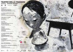 Il manifesto di Stefano #Ricci per il #Teatro delle Passioni di #Modena Stagione #Teatrale 2005-2006