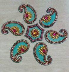 Items similar to Transparent acrylic mango shape Rangoli wedding decor Diwali gift Home decor Mandala Kolam Reception table center piece 7 pieces rangoli on Etsy Rangoli Patterns, Rangoli Designs Diwali, Diwali Rangoli, Indian Embroidery Designs, Hand Embroidery Art, Diwali Diy, Diwali Craft, Diy Diwali Decorations, Festival Decorations