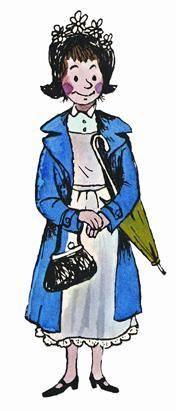 Amelia Bedelia - Love her and her books! Brings back my childhood favorites!