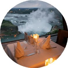 Clicksescape Niagara Falls Canada Side  Travel  Pinterest Endearing Skylon Revolving Dining Room Design Inspiration
