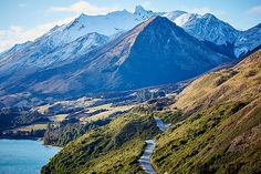 The road to Glenorchy, New Zealand by Aquabumps