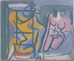 Femme au repos by @artistcorbusier #frenchart #lecorbusier