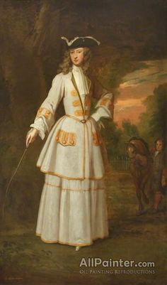 Lady Henrietta Cavendish, Lady Huntington by Sir Godfrey Kneller, Portraits, Portrait Art, Historical Costume, Historical Clothing, Riding Habit, Rococo Fashion, 18th Century Fashion, 17th Century, Louis Xiv