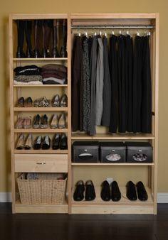 Solid Wood Closet Organization | Lundia USA | [household Goods U0026 Supplies]  American Made Home | Pinterest | Closet Organization, Solid Wood And ...