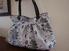 Love this bag !!   Atlanta 1864 Fabric Large Sachel Purse Bag Handbag by DeweyStreet, via Etsy.