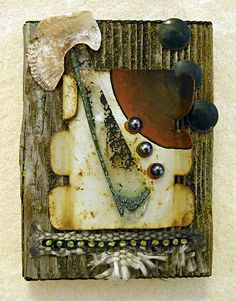 Alignment found object assemblage by tristanfrancis on Etsy, $150.00