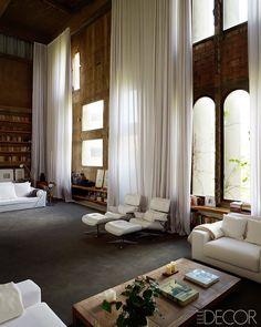 Ricardo Boffil's livingroom