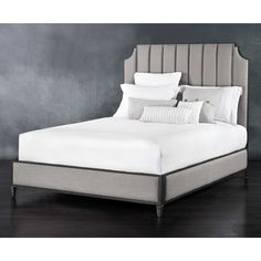 Shop for Wesley Allen Spencer Headboard with Surround, and other Bedroom Platform Beds at Goods Home Furnishings in North Carolina. Bedroom Furniture Design, Bed Furniture, Quality Furniture, Furniture Ideas, Furniture Dolly, King Beds, Queen Beds, Goods Home Furnishings, Online Furniture Stores