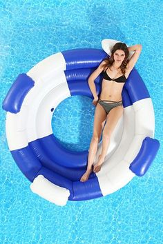 Pool Float Pool Raft with Shade Water Hammock swiftrans Inflatable Pool Floats with Canopy for Adults Swimming Pool Float Hammock Water Lounge Floating Water Bed Beach Mattress Summer Pool Toys