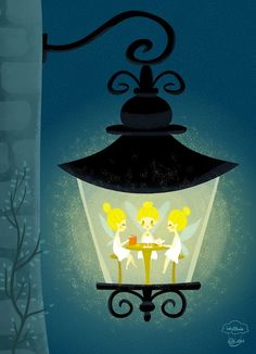 Idylltale Studio : The Lamp Light Book Club meets every Wednesday at lantern no. 11 on Wemberly Ave. Kid Friendly Art, Cute Fairy, Sketchbook Inspiration, Cute Illustration, Lamp Light, Lanterns, Fairy Tales, Graphic Art, Artsy