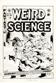 EC Covers, Wally Wood Weird Science