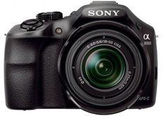"Sony ILCE3000 - Cámara réflex digital de 20.1 Mp (CMOS, 4x, pantalla 3""), negro"