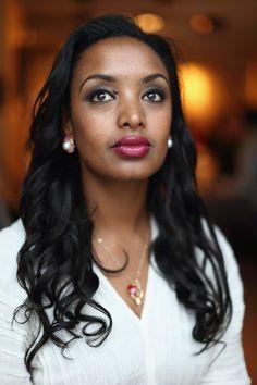 Ethiopian actress Meron Getnet