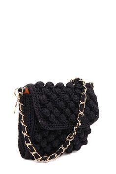 32a8c37d51d9 Italian designer Luxury Fashion for Men   Women. M Missoni Crochet Shoulder  Bag