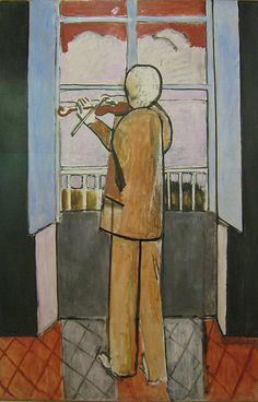 Henri Matisse, The Violinist at the Window, 1918