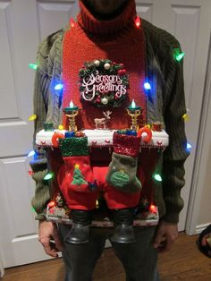 how to make an ugly christmas sweater - Google Search