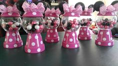 Minnie Inspired Gumball Centerpieces