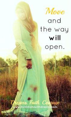 Muslimah muslim woman islam work authenticity dreams vision