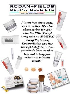 Psoriasis, eczema, sensitive skin, wrinkles, prevention, acne scars, freckles, sun damage, brown spots and so much more. What could Rodan and Fields fix for you? https://brannick.myrandf.com/