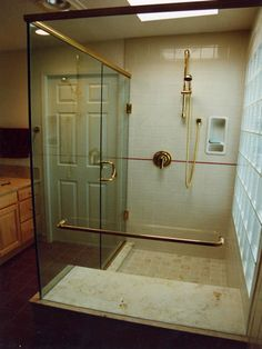 Bathroom Remodeling DIY Information Pictures Photos Ceramic Niches Shower Shelves Kitchen Manassas Design Shower Tile Ideas Va. Tub Remodel, Diy Bathroom Remodel, Shower Remodel, Bathroom Remodeling, Bathroom Ideas, Fiberglass Shower Enclosures, Modern Country Bathrooms, Glass Block Shower, Shower Makeover