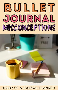 The most common bullet journal misconceptions people have and why the are all WRONG! #bulletjournal Bullet Journal Printables, Bullet Journal How To Start A, Printable Planner, Bujo, People, People Illustration, Folk