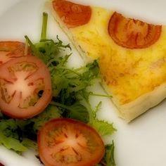 Italian breakfast: quiche
