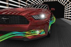 Ford Social: Mustang Aerodynamics for Performance and Efficiency Mustang Club, New Ford Mustang, 2015 Ford Mustang, Ford Mustangs, Us Cars, Sport Cars, Performance Auto Parts, Pony Car, Ford News