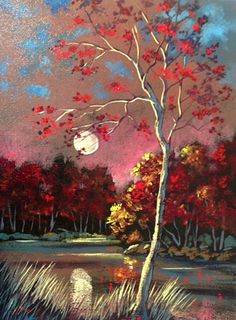 Ford Smith Originals on Canvas - Fateful Moment