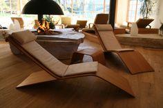 Chair deck Designs deckchair table - Galevi - Italy - exclusive modern italian contemporary design