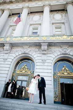 San Francisco City Hall Wedding.
