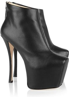 Giuseppe-Zanotti Plateau High-Heels Stiefel