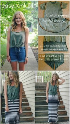 68 Fun and Flirty Ways to Refashion Your T-Shirts