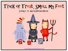 Halloween Word Sort FREEBIE! (e, ee, and ea word patterns)  