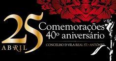 40º aniversário do 25 de Abril em Vila Real de Santo António | Algarlife