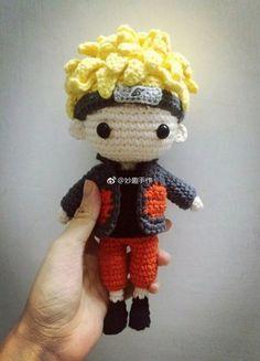 Crochet patterns amigurumi anime new Ideas Kawaii Crochet, Cute Crochet, Crochet Crafts, Yarn Crafts, Crochet Projects, Crochet Disney, Crochet Doll Tutorial, Crochet Doll Pattern, Crochet Patterns Amigurumi