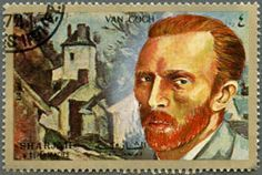 Facts About Vincent van Gogh...❥ He sold only one painting, The Red Vineyard, throughout his lifetime. After his death, his brother's wife dedicated herself to getting his work recognized.