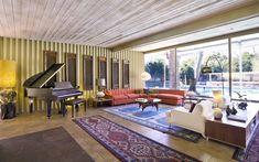 Brilliant Palm Springs Mid-Century Modern by E. Stewart Williams - Mid Century Home Mid Century Living Room, Mid Century House, Palm Springs Mid Century Modern, Modern Architects, Living Room Decor, Living Rooms, Mid-century Modern, Modern Living, Interior Design