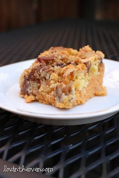 pumpkin crunch cake #recipes #dessert