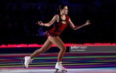 Russian figure skater Adelina Sotnikova performs during an ice skating show marking Russian figure skating coach Tatiana Tarasova's 70th birthday at Rossiya Concert Hall in Luzhniki. Artyom Geodakyan/TASS