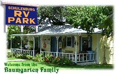 Welcome To Schulenburg RV Park Home Of The Painted Churches