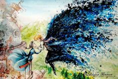 hayao-miyazaki-studio-ghibli-paintings-fan-art-louise-terrier Nerd pai 03