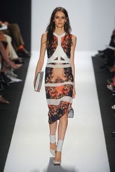 BCBG Max Azria at New York Fashion Week Spring 2013 - Runway Photos