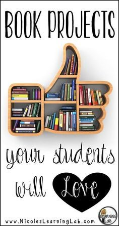 Blog post - Book projects to get your students excited about reading!