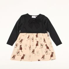 mini rodini KITTEN DRESS
