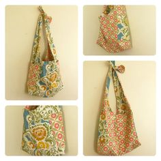 Lickety Split Boho Bag - A Sewing Journal - A Sewing Journal
