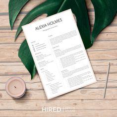 Hired Design Studio Resume Layout, Resume Format, Resume Cv, Resume Writing, Resume Design, Cv Template, Resume Templates, Cover Letter Design, Letter Designs