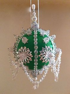 Easy Christmas Beaded Ornaments Kits Designer Beads And