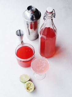 Rhubarb Gin — The Boy Who Bakes